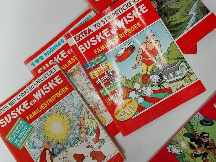 Suske en Wiske kringloopwinkel Lemmer Friesland
