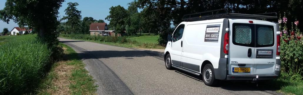 Goederen halen en brengen kringloopwinkel Friesland