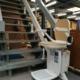 Traplift geïnstalleerd
