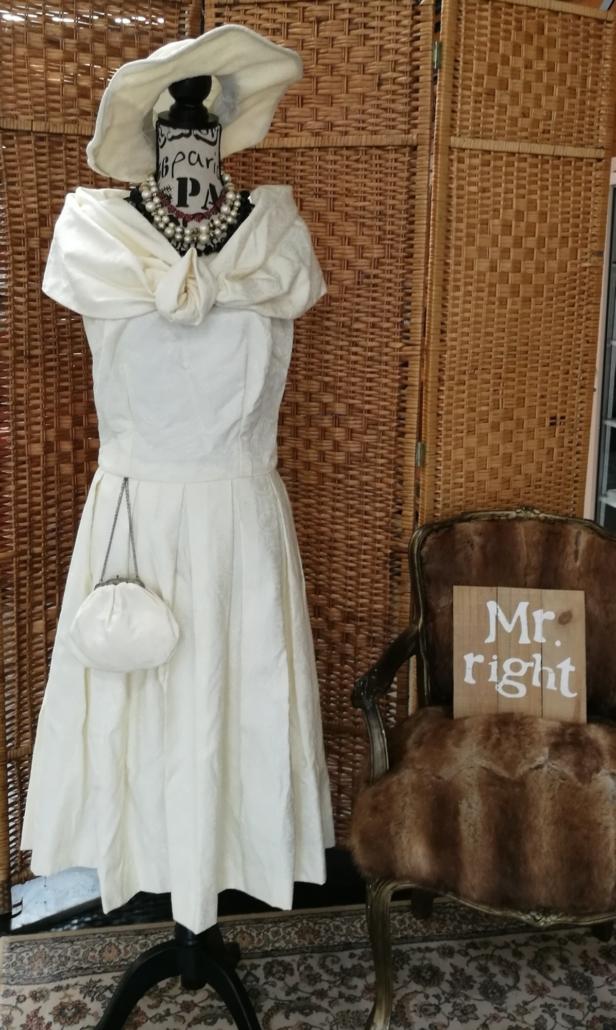 Prachtige vintage trouwjurk