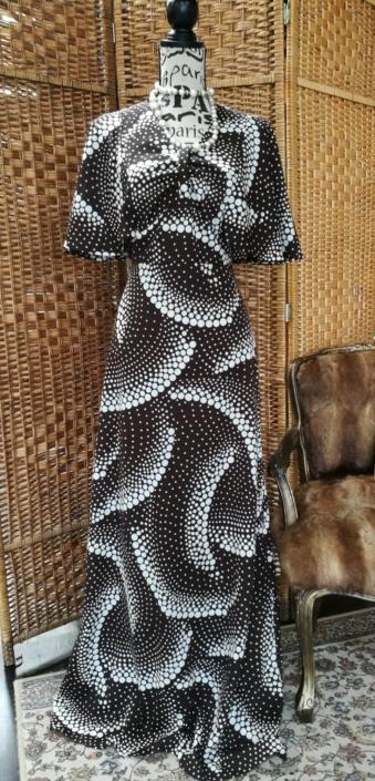 Hippe vintage jurk