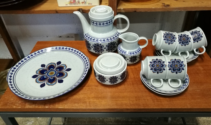 Vintage retro servies