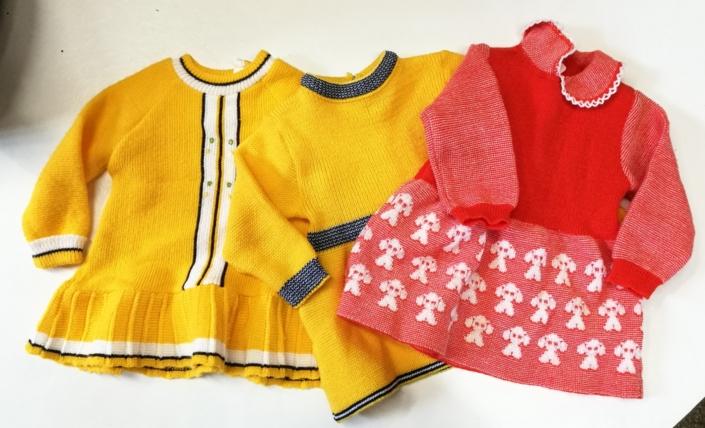 Vintage babykleertjes