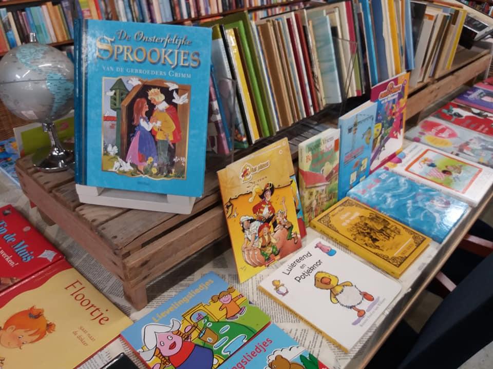 Kinderboeken kringloop Lemmer