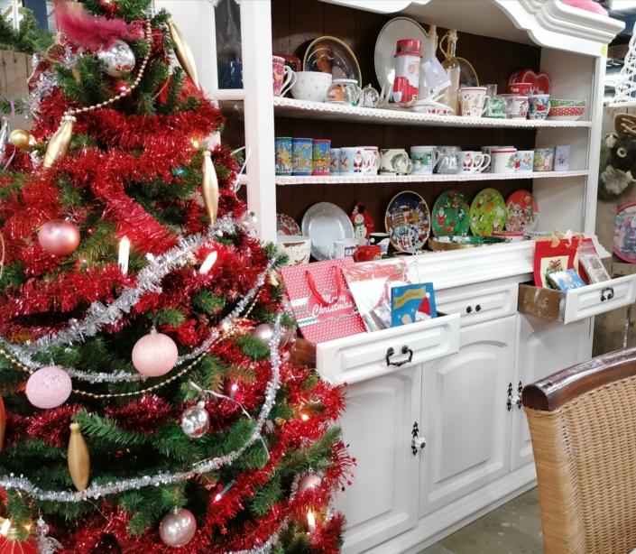 duurzame kerst met kringloopspullen