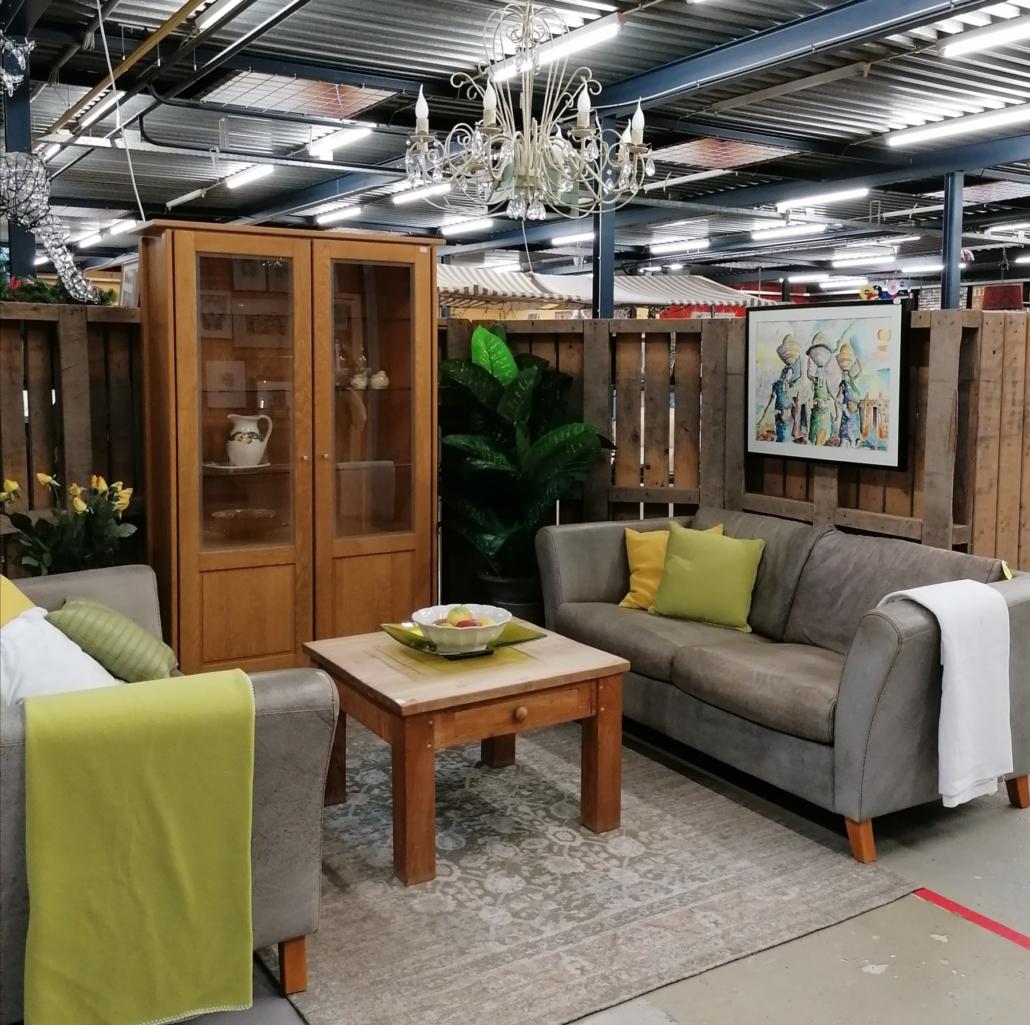 Duurzaam wonen tweedehands meubels